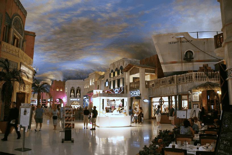 Shopping Miracle Mile em Las Vegas