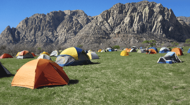 Pesquise os campings em Las Vegas