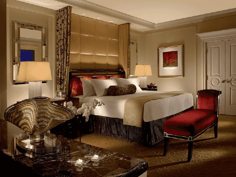 Quartos do Hotel e Cassino Palazzo em Las Vegas