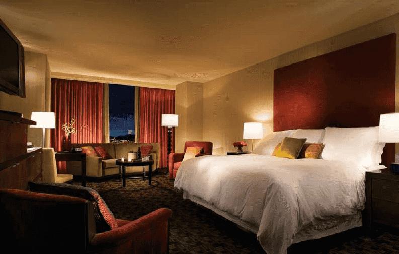 Quartos do Hotel e Cassino Palms em Las Vegas