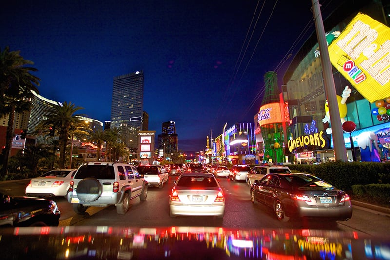 Como ir do aeroporto de Las Vegas para o centro