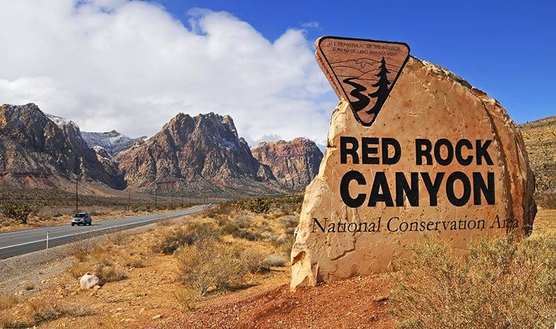 Conhecendo Red Rock Canyon saindo de Las Vegas
