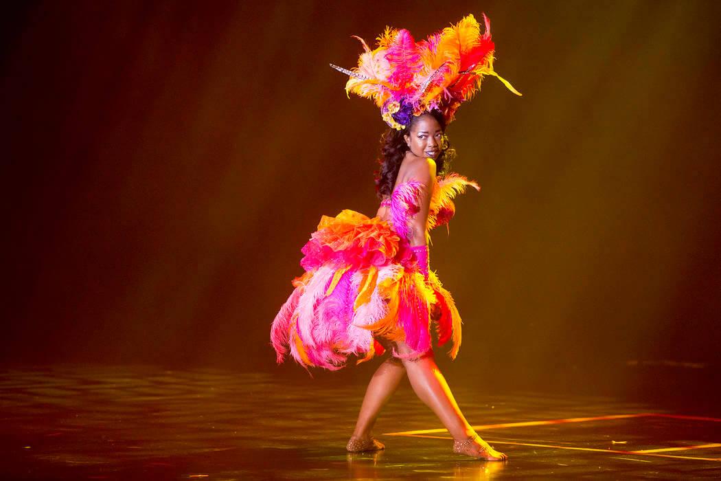 Entretenimento na Burlesque Hall of Fame em Las Vegas