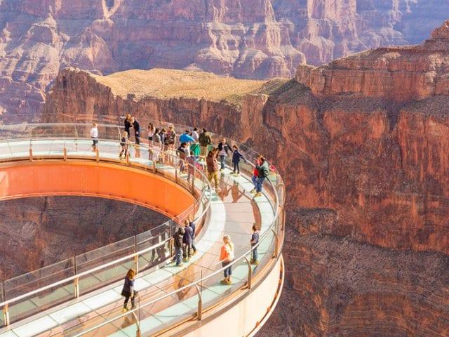 Conhecendo Grand Canyon West saindo de Las Vegas