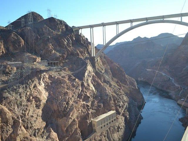 Conhecendo Hoover Dam saindo de Las Vegas