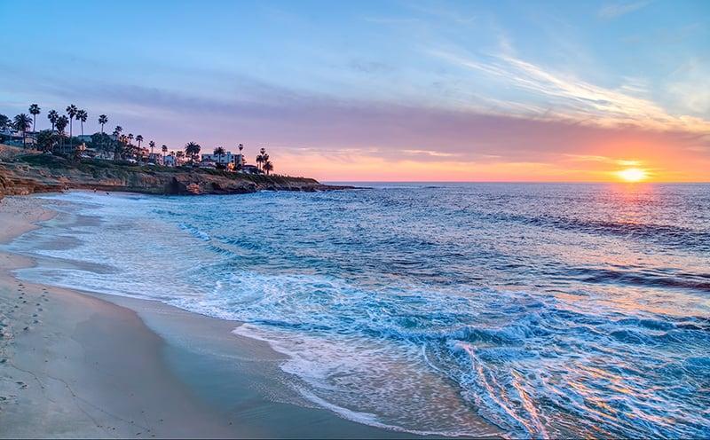 Conhecendo San Diego saindo de Las Vegas: Praia La Jolla
