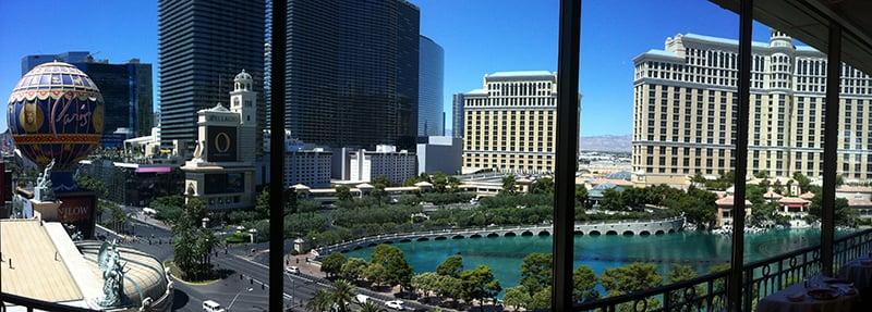 Restaurante Eiffel Tower em Las Vegas