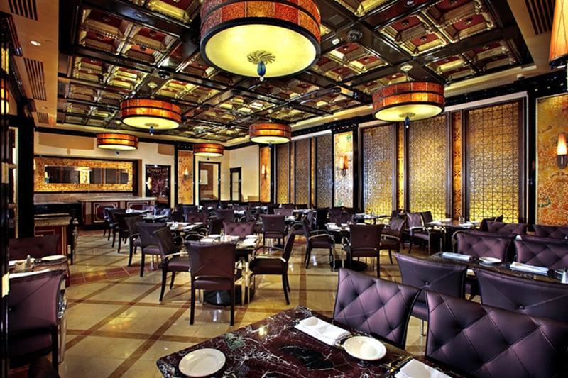 Restaurante Grand Lux Cafe em Las Vegas