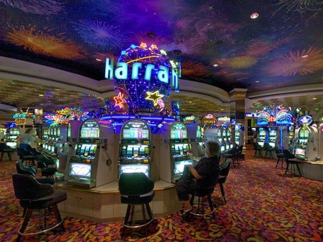 Como é dentro de um cassino em Las Vegas?
