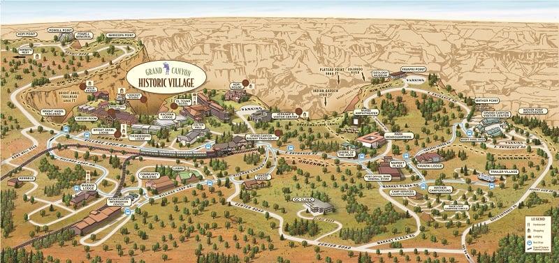 Região de Grand Canyon Village