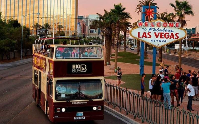 Big Bus em Las Vegas