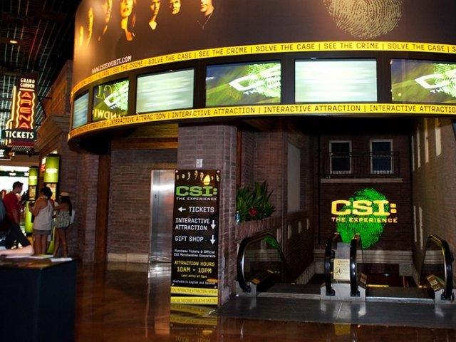 Experiência CSI em Las Vegas