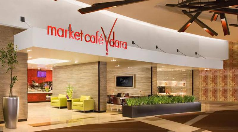 Opções gastronômicas do hotel Vdara em Las Vegas