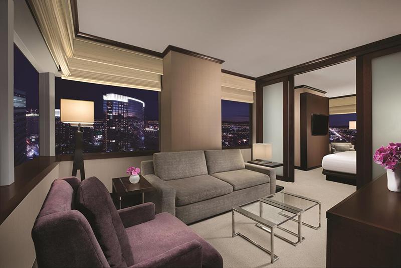 Acomodação do hotel Vdara em Las Vegas