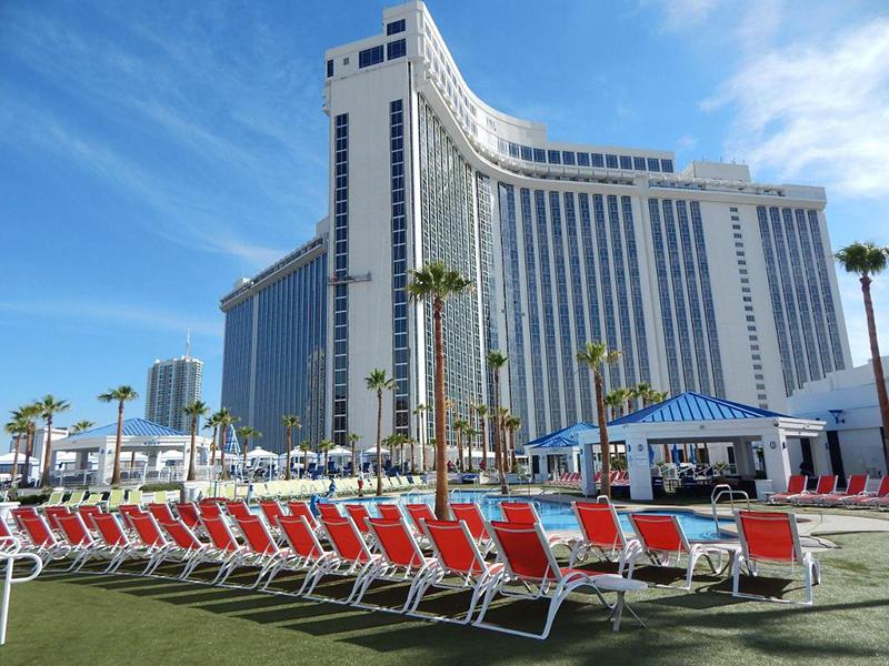 Área externa do hotel Westgate Resort and Casino em Las Vegas
