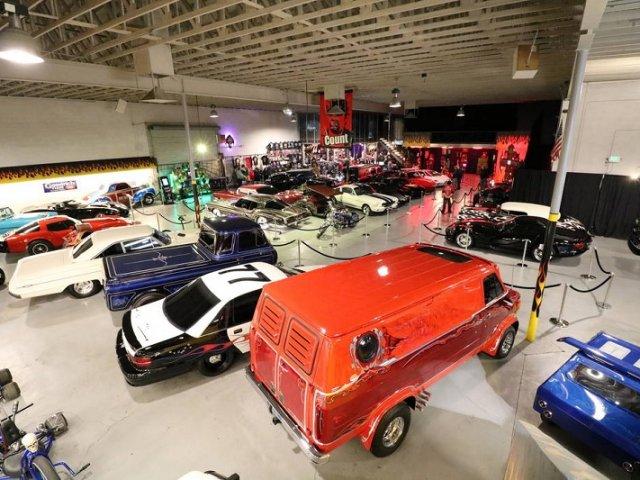 Exposição de carros do Counts Kustoms em Las Vegas