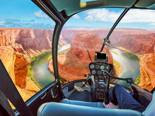 Tour Aéreo Águia Dourada em Las Vegas